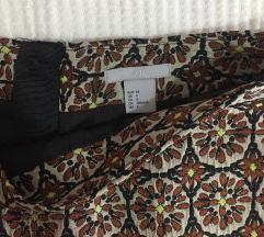 H&M suknja visokog struka NOVA