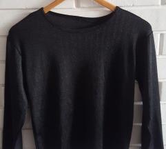 Crna majica sa kracim rukavima, M/L