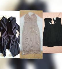 Haljina, kardigan i majica