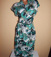 Sarena haljina XL