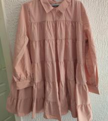 Potpuno nova roza haljina put M-L vel