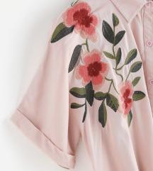 Sada 700! ZAFUL roze košulja na vezivanje