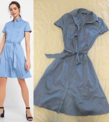 34. Orsay pamučna košulja haljina, svetlo plava