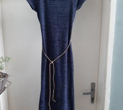Maxi teget haljina