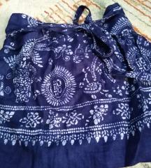 Zara teget suknja