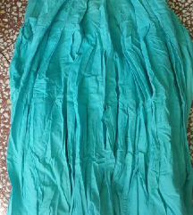 Esprit tirkiz duga suknja