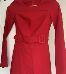 Crvena haljina ORSAY XS