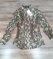 Zara zmijska košulja