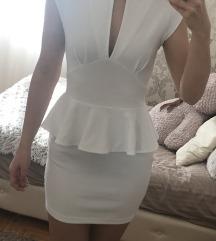 Bela kratka haljina 🌟Snizena 900 🌟