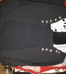 Kratak crni sako