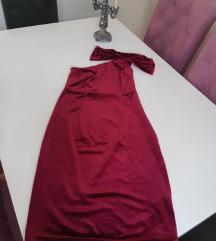 Pliš haljina
