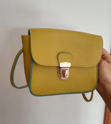Letnja mala zuta torbica