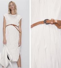 Rezzz Zara crinkle haljina NOVO