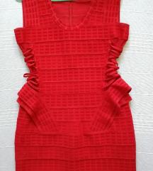 *SALE* Herve Leger crvena haljina/KAO NOVO