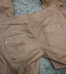 AKCIJA!Blue rags PUSH UP leather pants