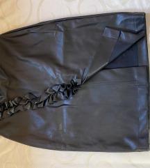 Kozna suknja Koton