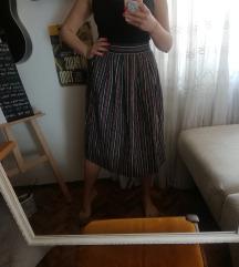 Unikatni kutak midi suknja AKCIJA