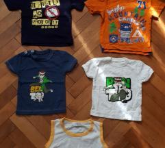 Majice za bebe-NOVO,5 KOM