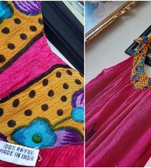 BOHO haljina made in INDIA 100%viskoza