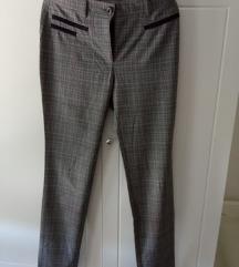 P.. S.. karirane pantalone, veličina 36,NOVO