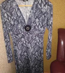 Zmiski print haljina