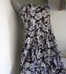 Dorothy Perkins sive ruze top haljina 42