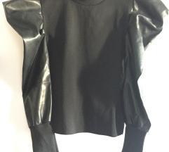 NOVO Bluza sa puf rukavima