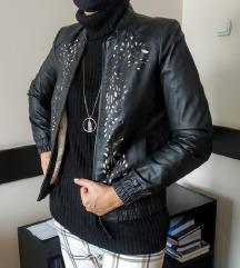 Sisley kozna jakna