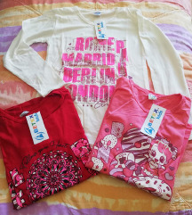 3 majce za devojcicu vel 12 NOVO SA ETIKETOM