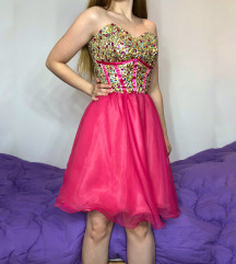Svečana haljina sa kristalima SNIŽENJE 5000