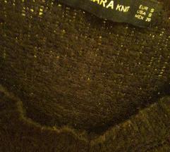 Zara crni džemper