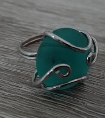 Tirkizni prsten, veća veličina