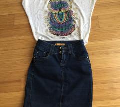 Teksas suknja & Majica