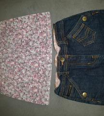 Paket za devojcicu 5-7god 110/116-suknje,haljina