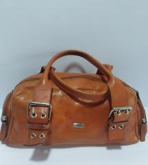 MANUAL kožna torba prirodna 100%koža 35x17