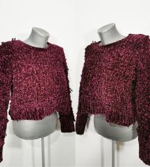 ZUIKI plišani džemper NOVO