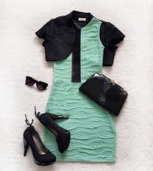 Mint BLONDY svecana haljina, univerzalna veličina