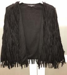 Crni  sako sa resama