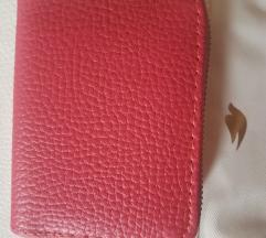 Roze novčanik nov
