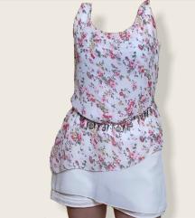 Floral print majica