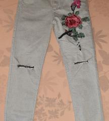 High waist pantalone M