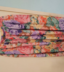 Cvetna viskozna suknja
