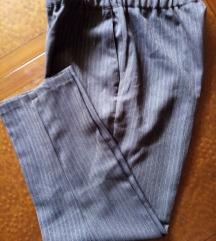 Braon pantalone na straftice vel.M/L