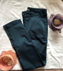 PATRIZIA BELUCCI NOVE tirkizne pantalone S