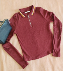 Pull&Bear Majica sa kragnom