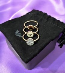 Emporio Armani set prstenja