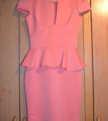 Prelepa roze/narandzasta haljinica