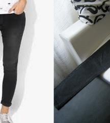 Stradivarius black washout jeans