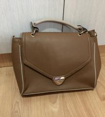 Braon - krem torba