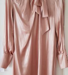 Nova nude staro zlato boja mini haljina
